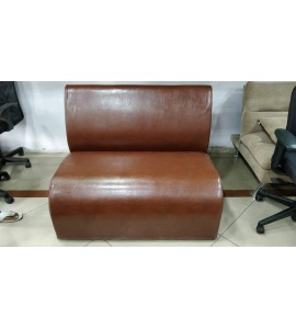 2 Seater Leatherette Sofa