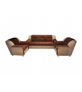 5 Seater Brown Sofa Set